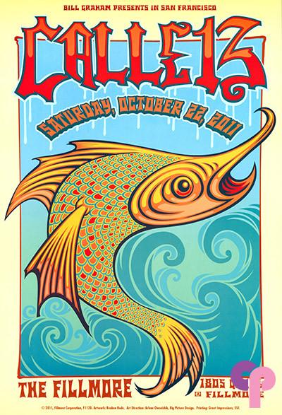 Fillmore Auditorium San Francisco, CA 10/22/11