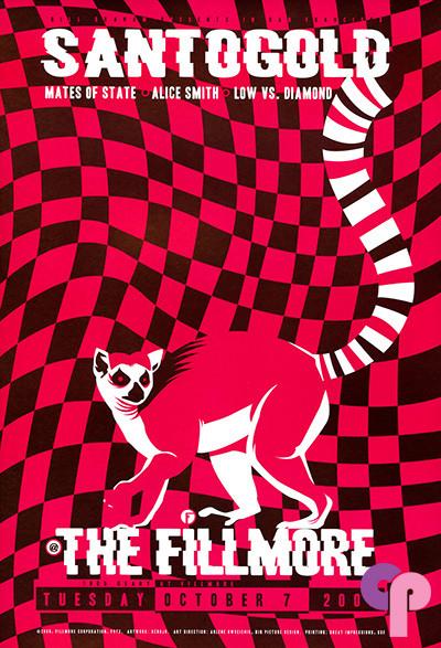 Fillmore Auditorium San Francisco, CA 10/7/08