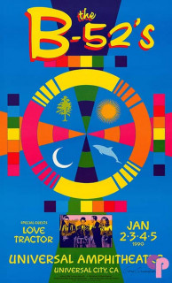 Universal Amphitheatre, Universal City, CA 1/2/90