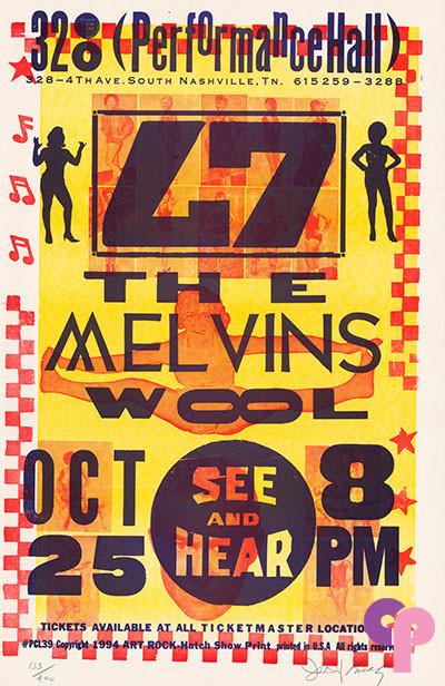 328 Performance Hall, Nashville, TN 10/25/94
