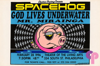 The Theatre of the Living Arts, Philadelphia, PA 2/28/96