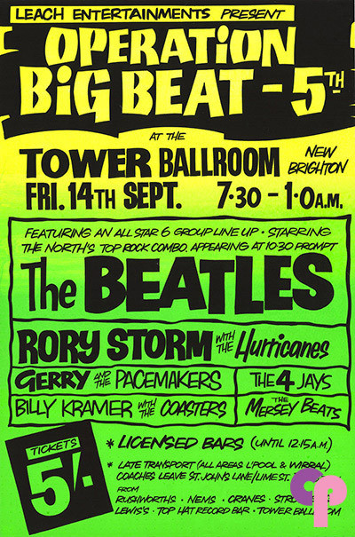 Tower Ballroom, New Brighton, UK 9/14/62