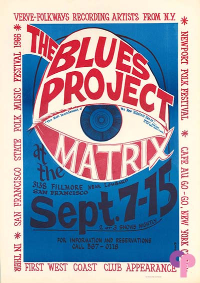 The Matrix, San Francisco, CA 9/7-15/66