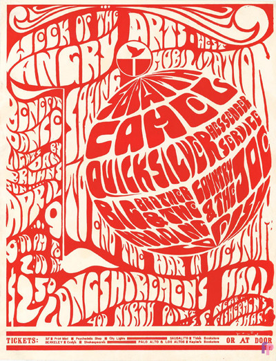 Longshoreman's Hall 4/9/66