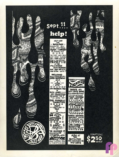 Fillmore Auditorium 9/11/66
