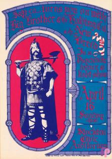 Stockton CIvic Auditorium 4/16/67