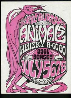 Whisky A-Go Go, Los Angeles 7/5-8/68