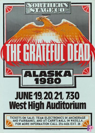West High Auditorium, Anchorage, AK 6/19-21/80