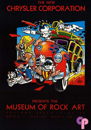 Museum of Rock Art, Daytona Beach, FL, 3/28/82