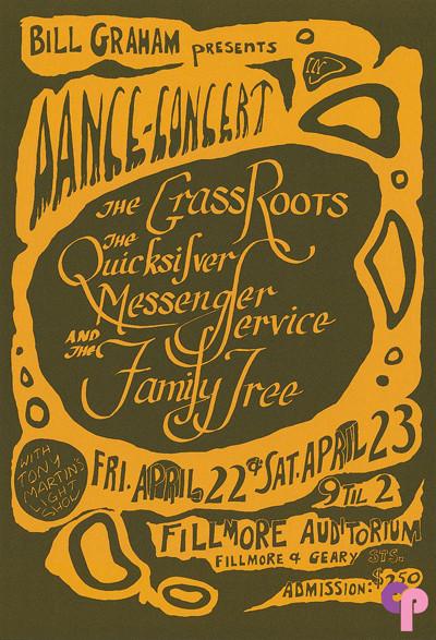 Fillmore Auditorium 4/22-23/66