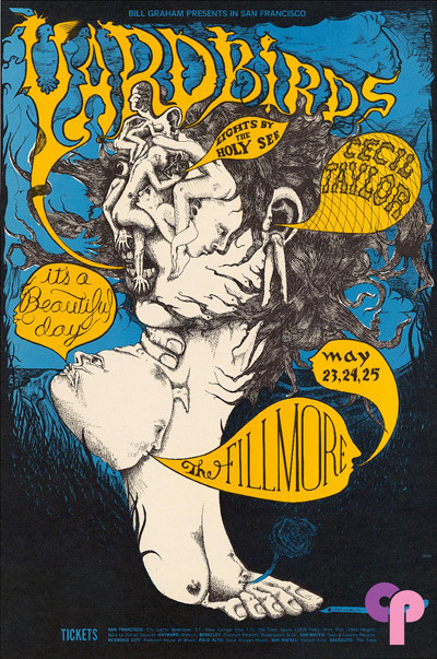 Fillmore Auditorium 5/23-25/68