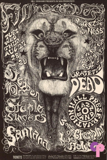 Fillmore West 8/27-9/1/68