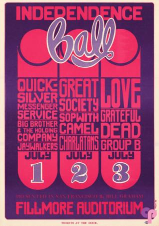 Fillmore Auditorium 7/1-3/66