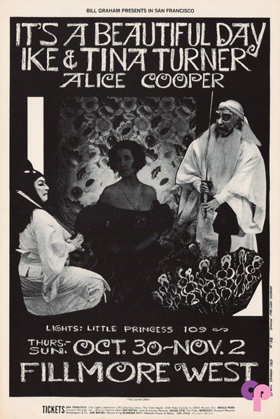 Fillmore West 10/30-11/2/69