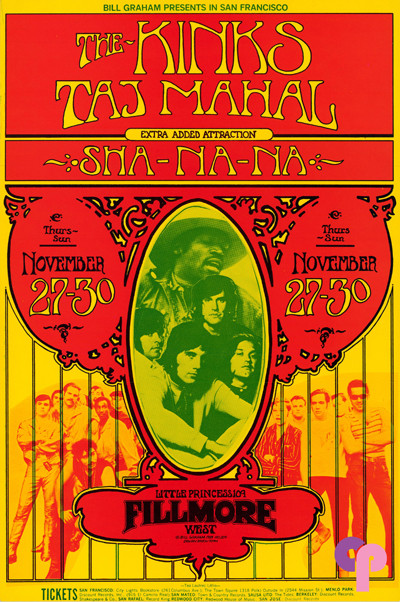 Fillmore West 11/27-30/69