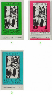 Original Concert Ticket Set