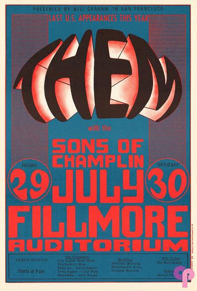 Fillmore Auditorium 7/29-30/66