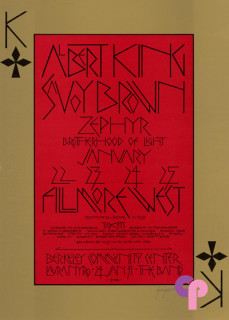 Fillmore West 1/22-25/70
