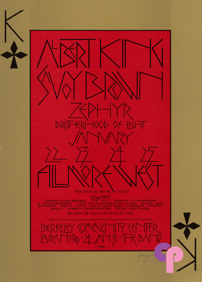 Fillmore West 1/22-25/70