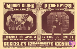 Berkeley Community Theater 4/2 & 4/11/70