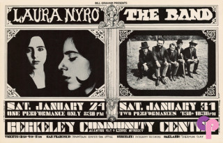 Berkeley Community Theater 1/24 & 1/31/70