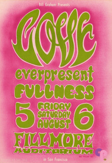 Fillmore Auditorium 8/5-6/66
