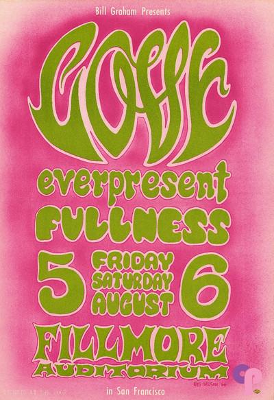 Fillmore Auditorium 8/5-6/66