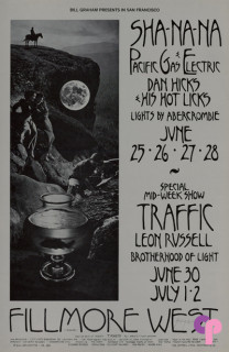 Fillmore West 6/25-28 & 6/30-7/2/70