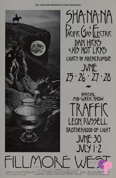 Fillmore West 6/25-28 & 6/30-7/2/70