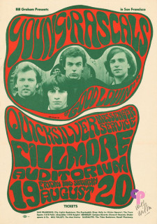 Fillmore Auditorium 8/19-20/66