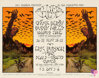 Fillmore West 9/24-27 & 10/1-4/70