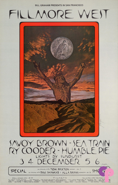 Fillmore West 12/3-6/70