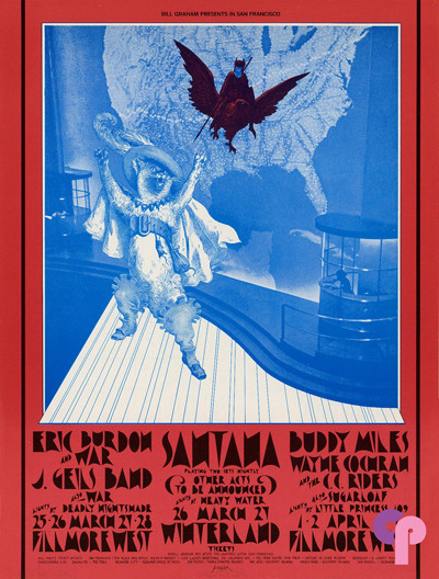 Fillmore West 3/25-28 & 4/1-4/71