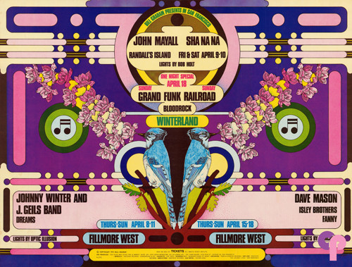 Fillmore West 4/8-11 & 4/15-18/71