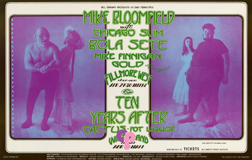 Mike Bloomfield with Chicago Slim