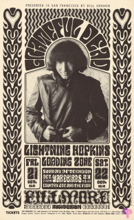 Fillmore Auditorium 10/21-22/66