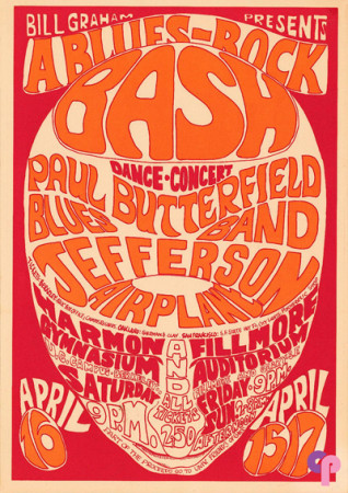 Fillmore Auditorium 4/15 and 17/66 Harmon Gymnasium (UC Berkely) 4/16/66