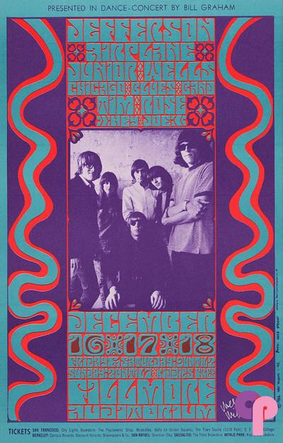 Fillmore Auditorium 12/16-18/66