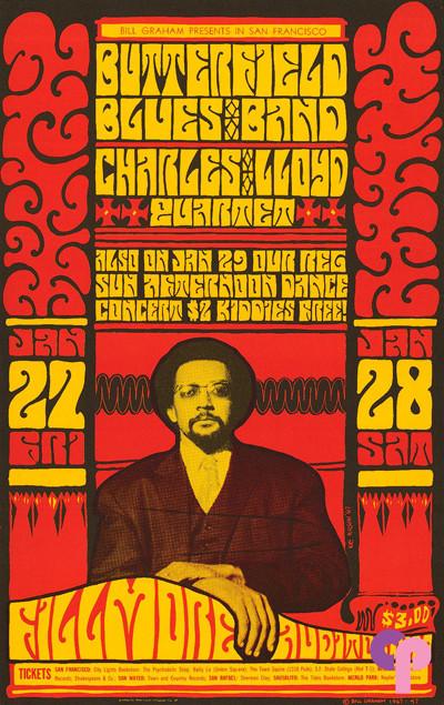 Fillmore Auditorium 1/27-29/67