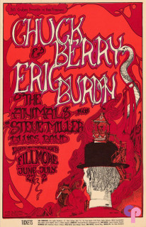 Fillmore Auditorium 6/27-7/2/67