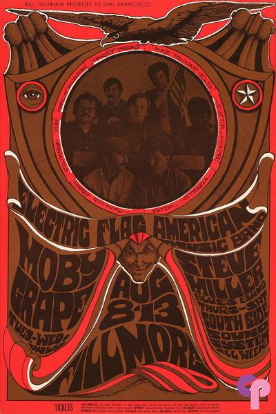 Fillmore Auditorium 8/8-13/67