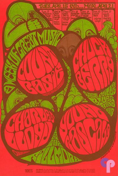 Fillmore Auditorium 8/15-21/67