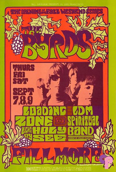 Fillmore Auditorium 9/7-9/67