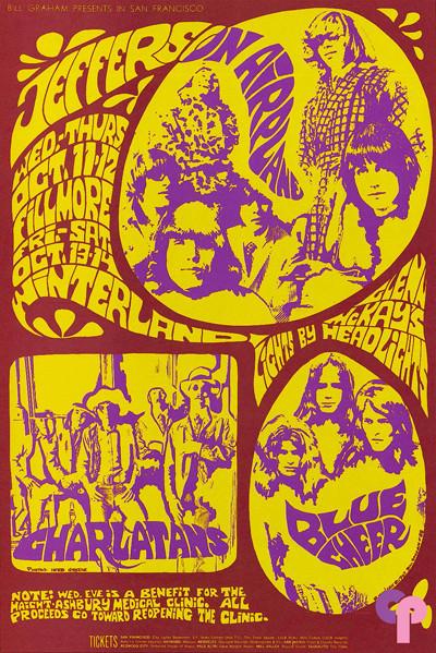 Fillmore Auditorium 10/11-14/67