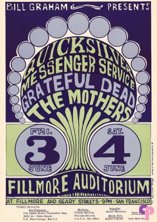 Fillmore Auditorium 6/3-4/66