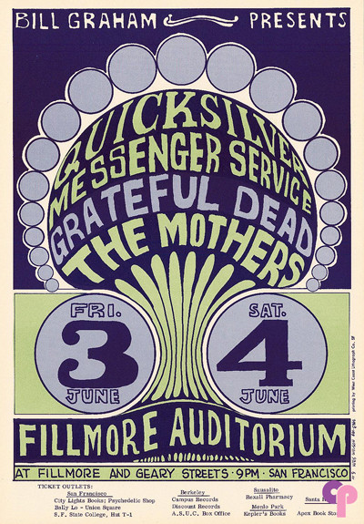 Fillmore Auditorium 6/3-4/66