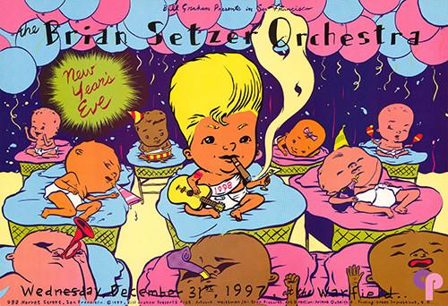 Warfield Theater 12/31/97