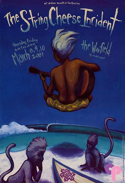 Warfield Theater 3/8-10/01