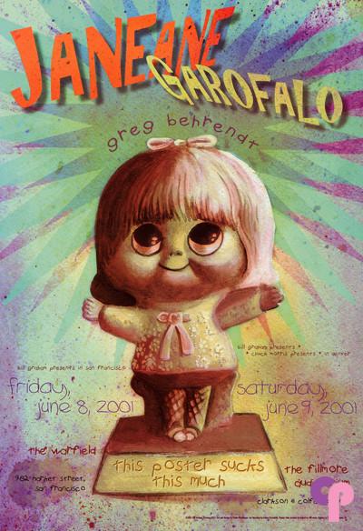 Warfield Theater 6/8-9/01