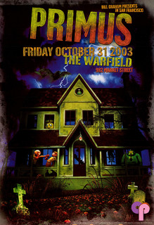 Warfield Theater 10/31/03